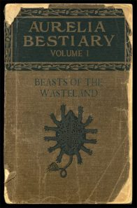 """Front cover of the """"AURELIA BESTIARY, Vol. I"""""""