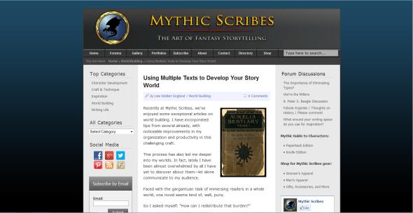 mythic scribes