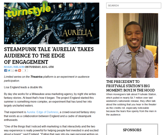 Featured on Turnstyle